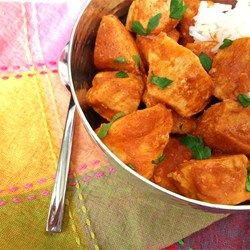 Good lord in heaven. This is delicious. And easy. A new staple in my house. I make this with veggies and garbanzo beans instead of chicken. If you do the same, be sure to add the curry powder to the sauce. Curry Stand Chicken Tikka Masala Sauce - Allrecipes.com