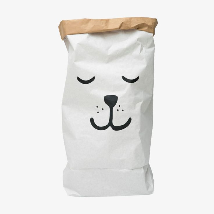 Papieren opbergzak van Tellkiddo / Sleeping Bear Paper Bag