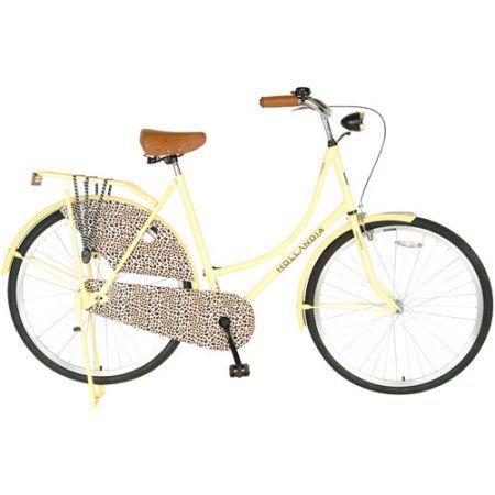 Beautiful 28 Inch Hollandia City Leopard Womenu0027s Cruiser Bike, Yellow