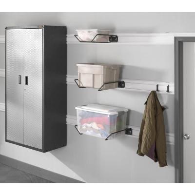 Gladiator Garage Storage Bin Holder for GearTrack or GearWall-GAWUXXBMTH - The Home Depot