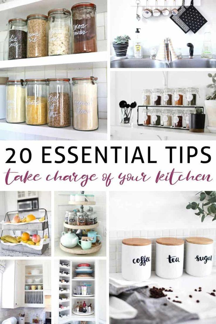 So organisieren Sie Ihre Küche effizient organisieren kuche effizient
