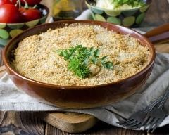 Crumble de chou-fleur : http://www.cuisineaz.com/recettes/crumble-de-chou-fleur-79355.aspx