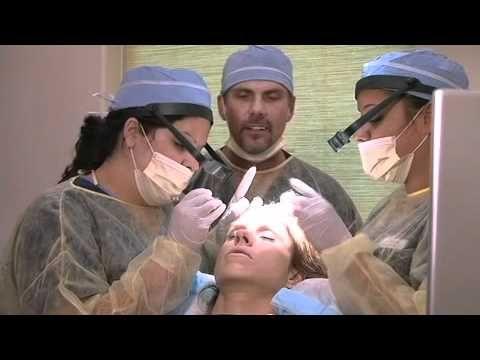 Dr. McGrath, Texas Hair Surgeon, performs hair transplant on Monica Brant