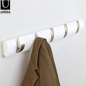 Umbra Flip Hook – White  http://www.redcandy.co.uk/product-umbra-flip-hook-white.php