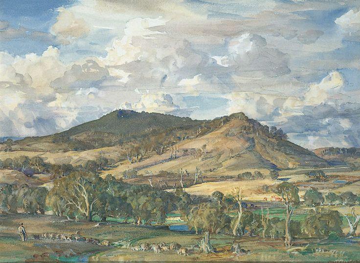 Hans Heysen Australian artist