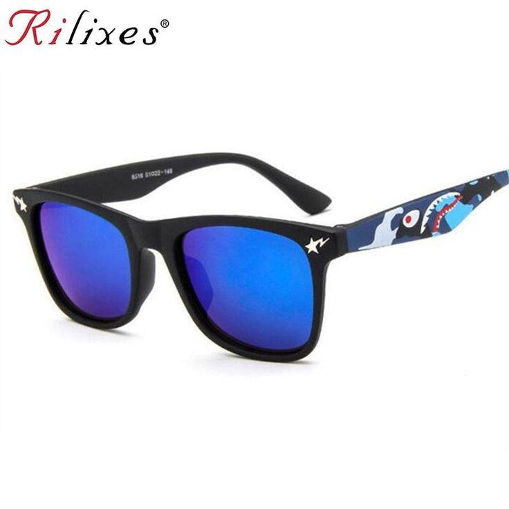 075a1b9dad5e RILIXES Cool Baby Boy Girls Kids Sunglasses Top Fashion Coating Sunglasses  Children Sun Glasses | #Trick & tips for Kid's Collection | Kids sunglasses,  ...