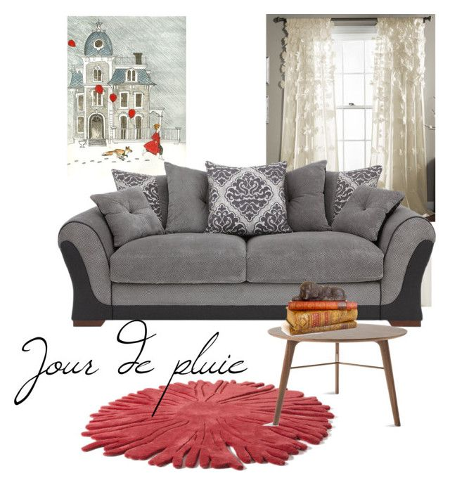 """Jour de pluie"" by ruefedor ❤ liked on Polyvore featuring interior, interiors, interior design, home, home decor, interior decorating, Nodus and Stellar Works"