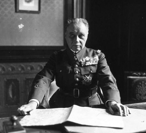 Maurice Gamelin, comandante en jefe francés en 1939