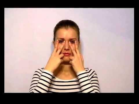 #Упражнение для мышц глаза против морщин в уголках глаз