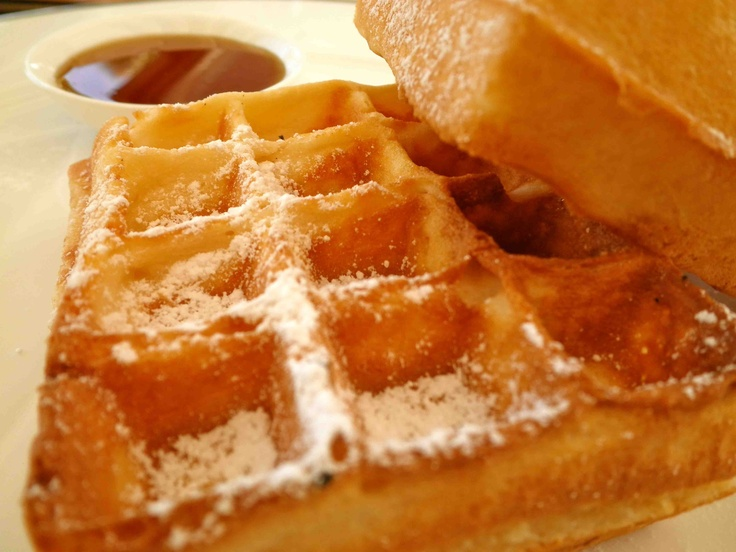 Saturday: Belgian waffles