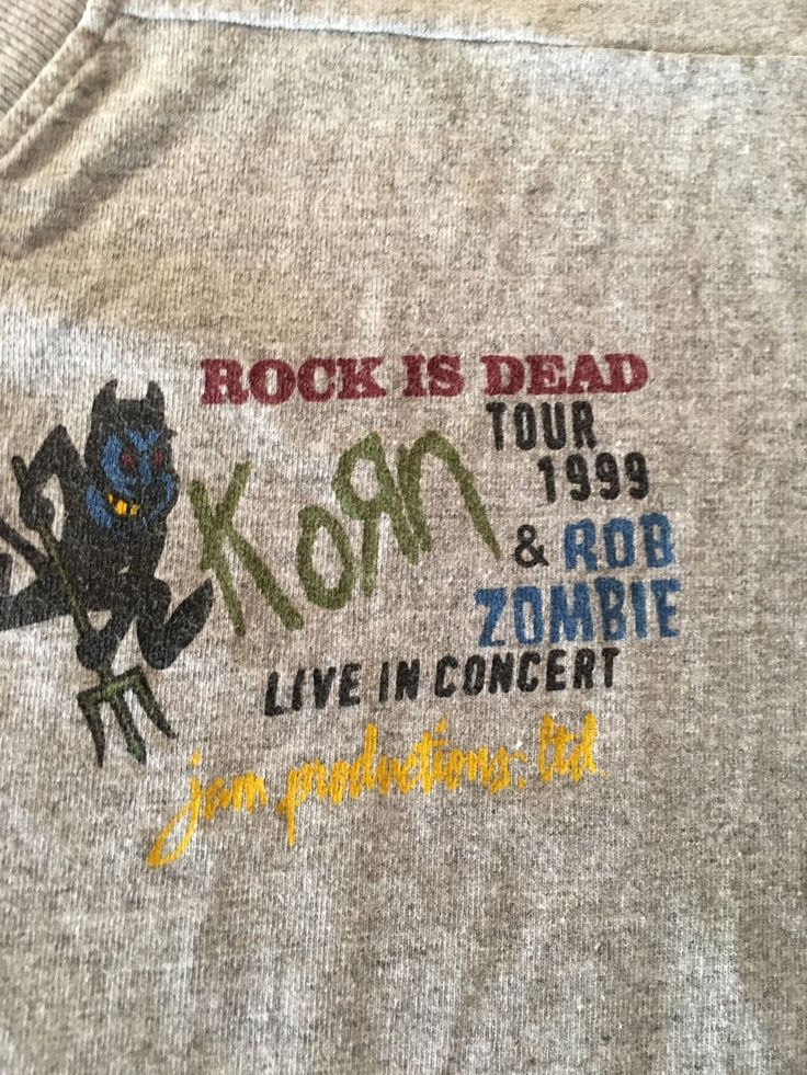 Korn and Rob Zombie Rock is Dead Tour 1999