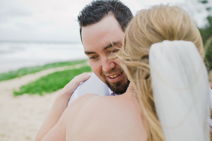 kelly & travis, a sunshine beach, noosa wedding