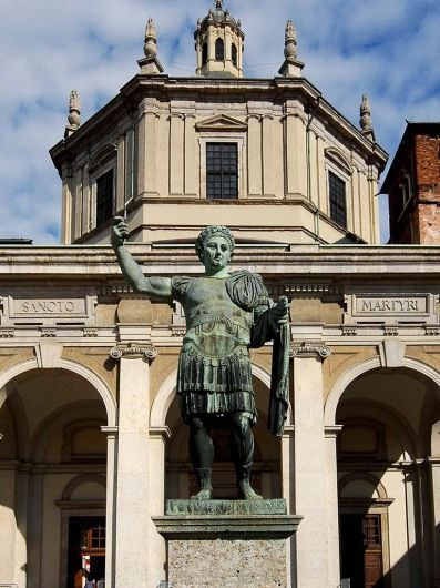 San Lorenzo Maggiore, Milán, Italia © Joerg Tietje (met ...