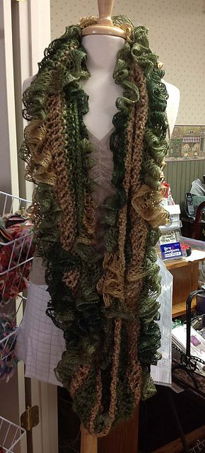 183 best crochet ruffle yarn images on Pinterest | Sashay yarn ...