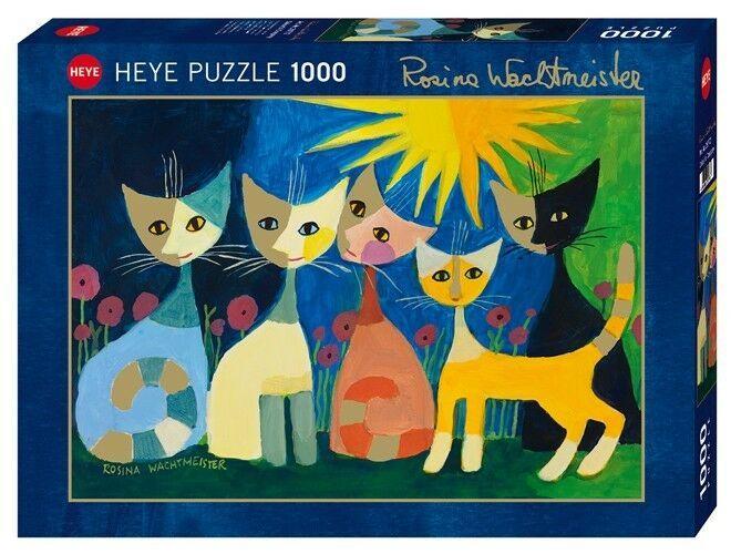 Heye Colourful Company Standard Puzzle 1000 Teile Rosina