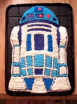 r2d2 cake | R2D2 cake - cake star wars birthday starwars birthdaycake