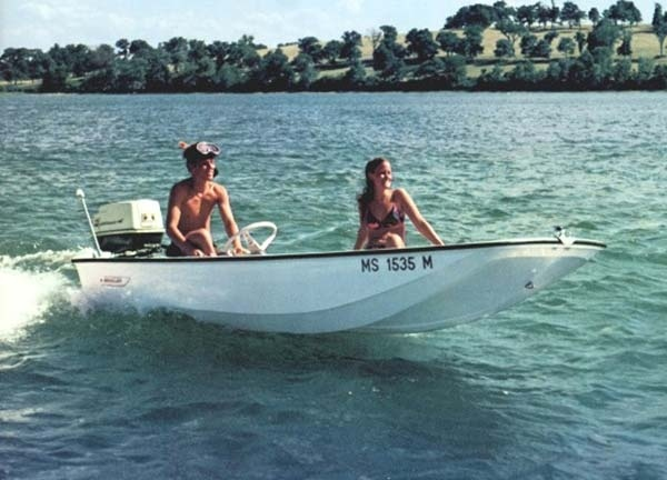 Boston Whaler's 130 Sport and famous Nauset made it in Salt Water Sportsman's Top 50 Sport Fishing Boats of All Time! See the full article here. - motorboat