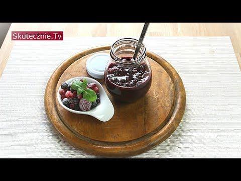 Dżemik owocowy z chia - bez cukru, owoce świeże lub mrożone :: Skuteczni...