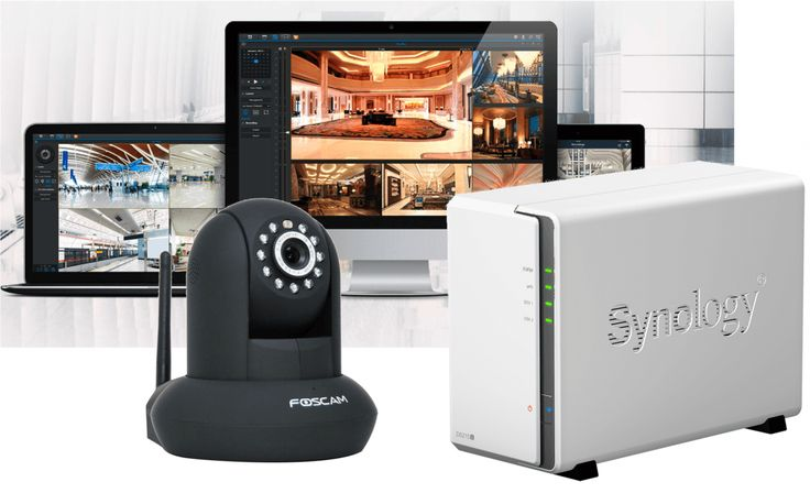 Foscam IP Kamera an der Synology Surveillance Station