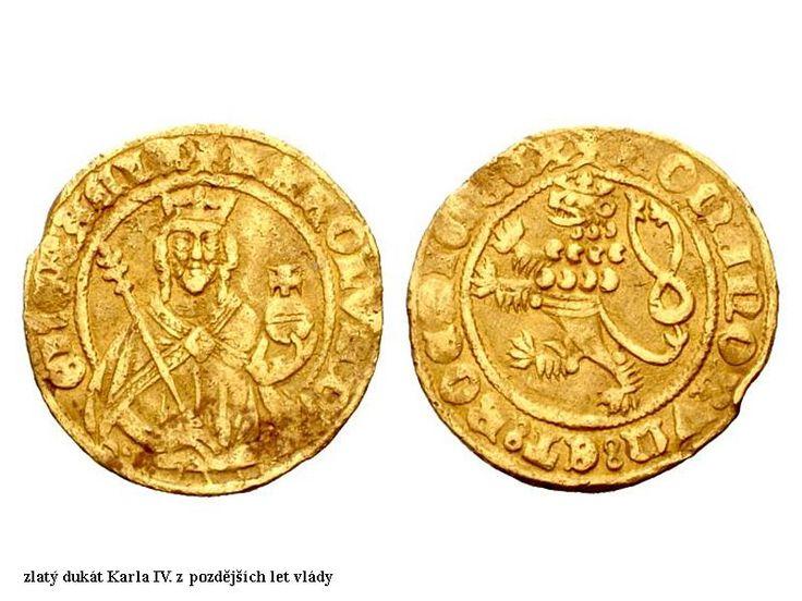 Karel IV - mince
