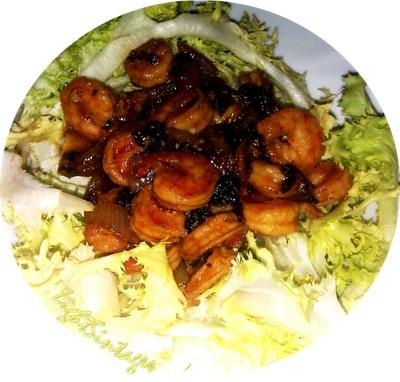 Light Συνταγές: Γαρίδες sweet and sour