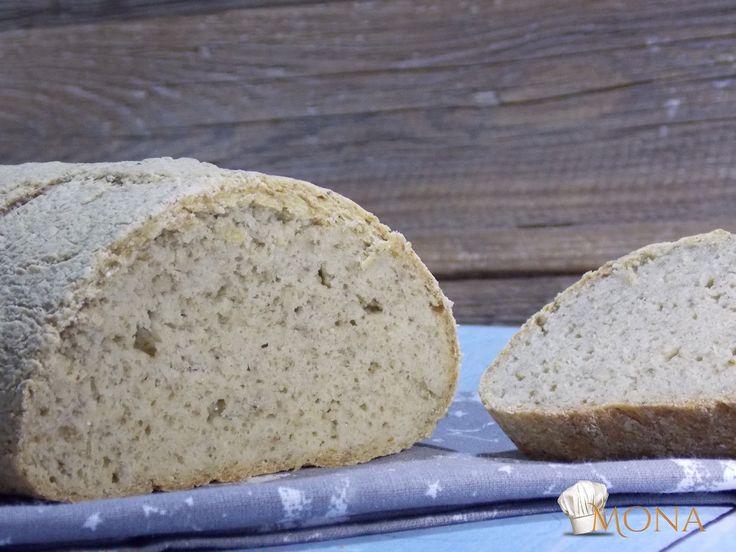 Hozzávalók:25 dkg Naturbit barna rizsliszt10 dkg Naturbit köles liszt2 dkg darált chia mag2,5 dkg útifűmaghéj2 kk só4 dkg tápióka keményítő5 dl víz1 cs sütőpor2 ek citromlé5 gr bambuszrost+ olajElkészítés:A száraz alapanyagokat egy tálban összekeverjük, majd hozzáadjuk a vizet és a citromlevet, majd jól eldolgozzuk. Formázzuk és sütőpapíros tepsire tesszük. Tetejét leolajozzuk, majd bevagdossuk. 180 fokon