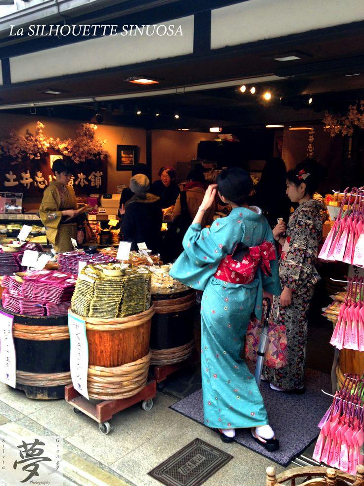 The nice Silhouette  #japan #kyoto #kimono
