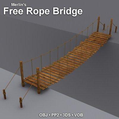 Merlins Free Rope Bridge