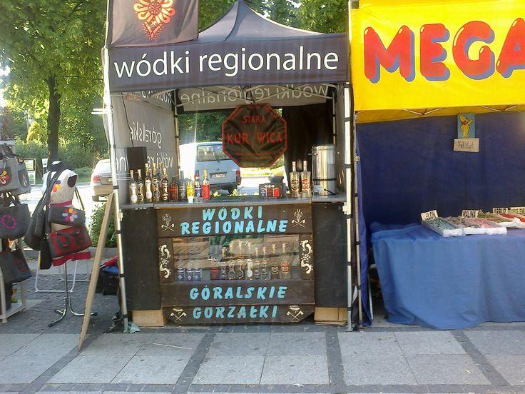 Festiwal sztuki kulinarnej. Wódki regionalne.