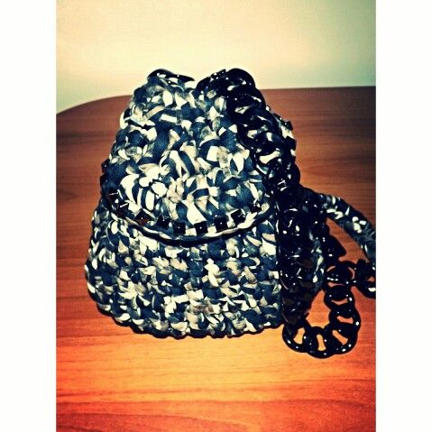 Crochet backpack IRIDESIGNS
