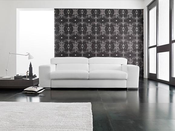 oltre 25 fantastiche idee su arredamento con divano in pelle su ... - Pelle Bianca Divano Letto Semplice