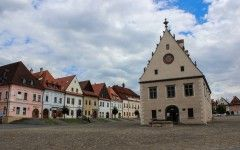 Town hall sqauire, Bardejov (Unesco heritage), Slovakia