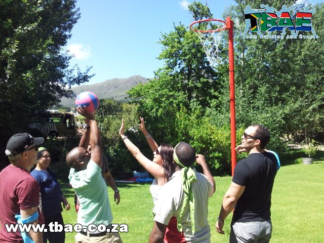 KPMG SA Mini Olympics Team Building Stellenbosch