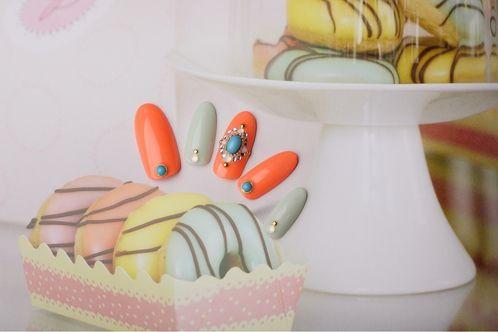 ターコイズクラシック | 奈良県・西大寺・新大宮・奈良・高の原のネイルサロン・アイラッシュ・メイク・女性専用サロン mary nail&eyelash 西大寺のネイル | Rasysa(らしさ)