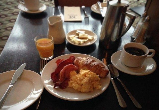 Delicious breakfast at the Montenotte Hotel in Cork, Ireland