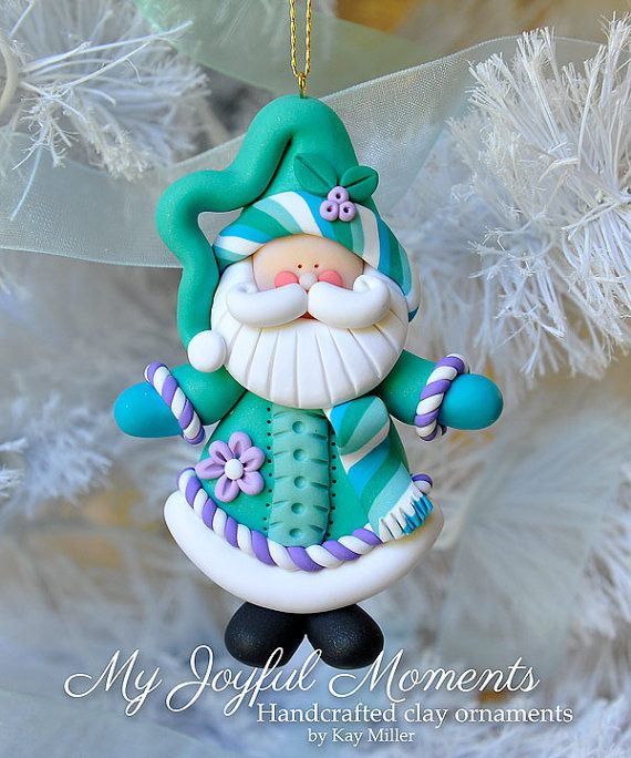 This is s one of a kind, handcrafted ornament made of durable polymer clay, with much attention given to detail and careful construction. No