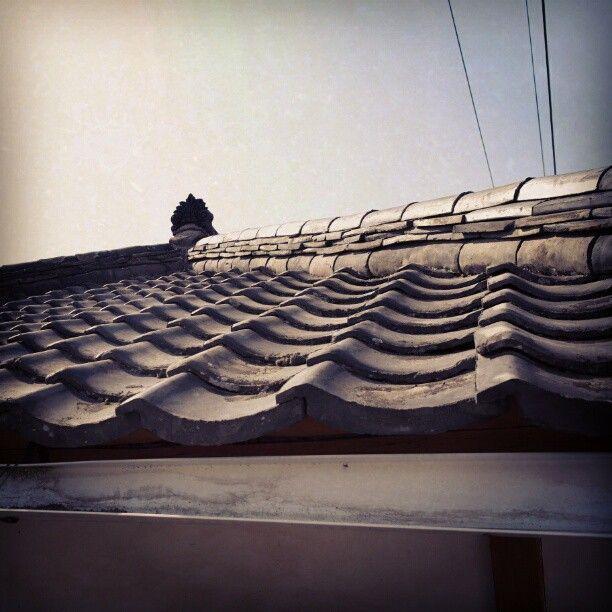 .@ji young choi | 외가에 가면 지붕에 기와가 있는게 참 좋다. #기와 #지붕 #집 #korean #roof #house | Webstagram