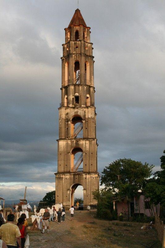 Torre Iznaga, Trinidad, Cuba Copyright: Petek Dalyan