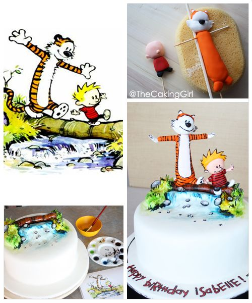 Calvin and Hobbies Cake!