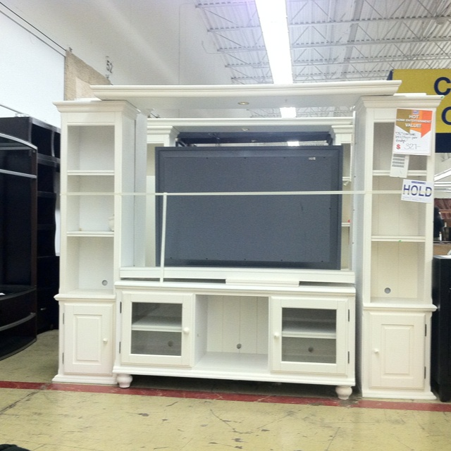White Entertainment Center Home Pinterest White