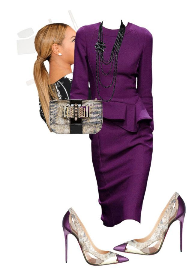 by cogic-fashion on Polyvore featuring Chanel and Christian Louboutin