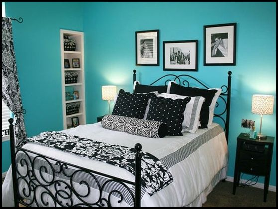 Tiffany Blue Room Wall Colors Guest S Bedrooms Black And