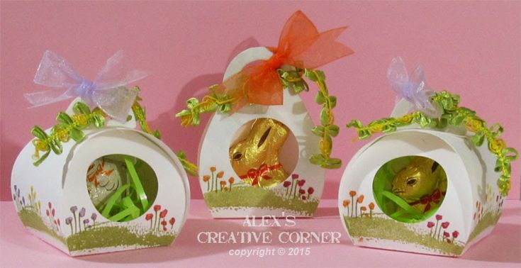 Alex's Creative Corner: Curvy Keepsake Easter Favors using Sheltering Tree stamps set