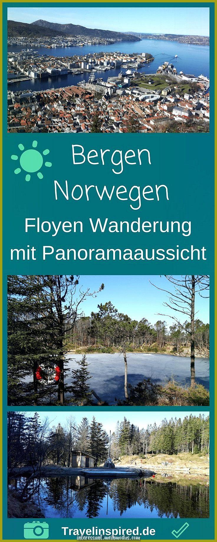 Die Norwegische Hafenstadt Zuruck Holen Bryggen Und Floyen