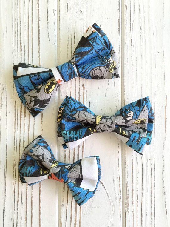 Batman bowtie  teken bowtie  superheld door PinkPeonyByChristy