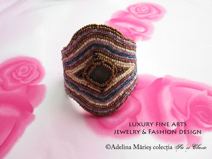 embroidery, seed beads, jewelry