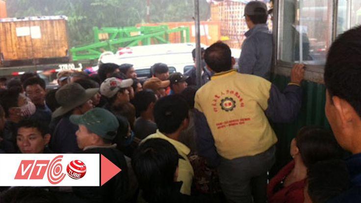 Người lao động ồ ạt sang Lào, Thái Lan   VTC