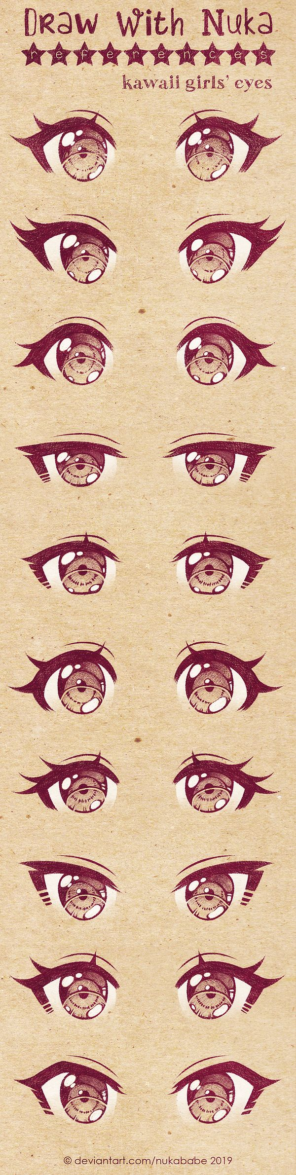 Anime Female Eyes Reference Google Search Anime Drawings Sketches Anime Drawings Tutorials Anime Eye Drawing