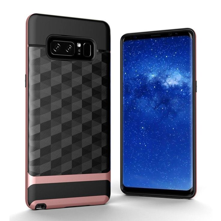 MPC PRISM Hybrid Armor Galaxy Note 8 Case - Rose Gold