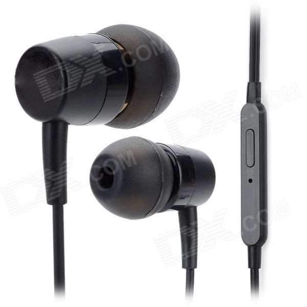 Model: B2; Quantity: 1 Piece; Color: Black; Material: ABS; Compatible Models: Iphone / Samsung / HTC / Motorola / Nokia / Huawei / ZTE / LG / Sony Ericsson and all cell phones with 3.5mm audio jack; Microphone: Yes; Earphones Type: In-Ear Earphones; Headphone Jack: 3.5mm; Impedance: 32dB +/- 15%; Sensitivity: 109dB +/- 3dB; Frequency Response Range: 20Hz ~ 20KHz; Cable Length: 154 cm; Features: Max. input power: 25mW; Packing List: 1 x Earphone; 1 x Clip; 4 x Earbud covers…
